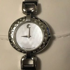 AUTHENTIC WOMEN'S MOVADO WATCH WITH DIAMONDS